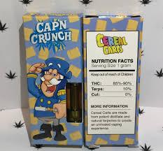 Capn Crunch Cereal Carts