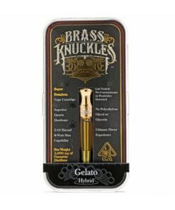 Gelato Brass Knuckles Carts